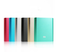 Wholesale xiaomi mAh power bank charger large capacity portable cell phone battery charger for iphone Samsung HTC xiaomi ect
