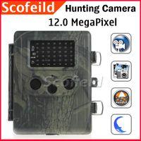 Wholesale 12 MegaPixel Hunting Camera and Infrared Digital Trail Camera