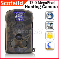 Wholesale 12 MegaPixel Passive Infra Red Digital Scouting Wildlife Hunting Trail Digital Camera Night Vision amp Motion Detector