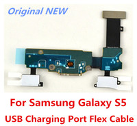 Wholesale General Charging Port Dock Connector USB Port Flex Cable For Samsung Galaxy S5 i9600 G900T G900A G900V G900P