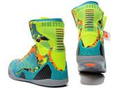 Best Basketball Shoes KB 9 IX ELITE INFLUENCE Turquoise Volt...