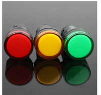 Wholesale Factory directly sale for AD16 d indicator lights diameter various colors LED bulbs round style
