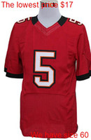 Wholesale Josh Freeman new elite game mens womens youths kids jerseys mix order Name Logo Stitched AAAAAA quality lowest price