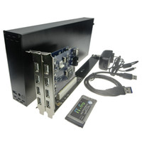 Wholesale Laptop PC Expansion Cards To bit PCI slots adapter with case enclosure mm