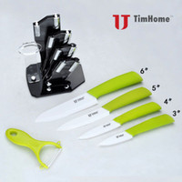 Wholesale Kitchen Knife Set quot quot quot Peeler Ultra Sharp Ceramic knife Set Knife Straight