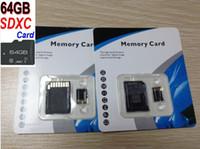 kakacola 64GB SDXC Class 10 TF Generic карты памяти No Name Unbranded С10 64g Micro SDXC TF MicroSD SD адаптер Свободная SD блистерная розничный пакет