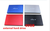 Wholesale 100 quot NEW portable external hard drive storage disk GB USB2 HDD for laptops amp desktops