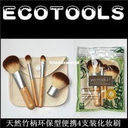 Wholesale MAKEUP Brushes Eco Tools ecotools Piece Bamboo Brush