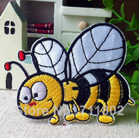 Patches iron on patches for kids - Bee cloth patches accessory Embroidered iron On Patches for Kids Children