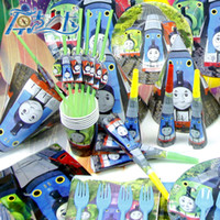 Wholesale Thomas Train Theme Birthday Decoration Supplies Baby Birthday Party Pack PC