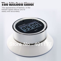 Wholesale Flying Saucer Spin Control LCD Digital Cooking Kitchen Countdown Timer Alarm Count Down Timer