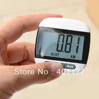 Wholesale Multi function Pedometer Large LCD Display Step Pedometer Walking Calorie Distance Counter