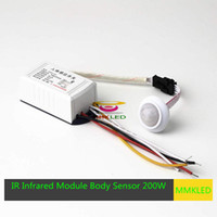 Wholesale New IR Infrared Module Body Sensor Intelligent Light Motion Sensing Switch W V
