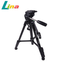 Wholesale VCT SLR DSLR Tripod With D Damping Pan Head For Canon Nikon Sony Pentax