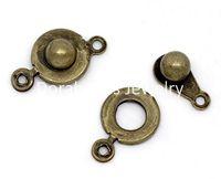 Wholesale Bronze Tone Trailer Hitch Clasps x9 mm B09620