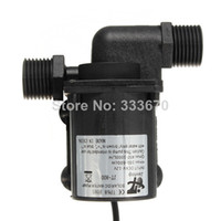 Wholesale 12V L H Electric Solar Brushless Motor Water Pump Magnetic Driven for CPU Cooling Aquarium Fountain Garden Water feature