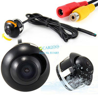 Wholesale 1 CMOS Car Reverse Rear View Backup Camera Degrees View Angle Night Vision Car Parking Carmera b8 SV003379