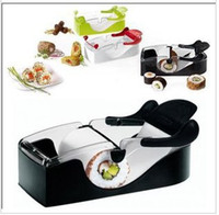 Wholesale 1 Piece Magic Roll Perfect Roll Sushi Easy Sushi Maker Roller Equipment Sushi Tools X1010