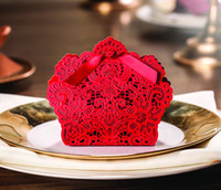 Cheap Favor Boxes candy box Best Red Paper wedding favor