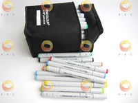 Wholesale Color Finecolour Sketch Twin Marker Set a gift bag to USA only can choose your own colors marker pen on a budget hot