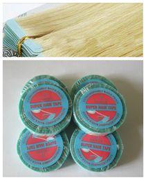 Descuento cintas de la peluca del pelo Wholesale-1 PC / paquete-1cm * 3yard Doble-lados cinta de pelo de la cinta delantera de la cinta del cordón de extensión // encaje de cinta adhesiva de pegamento de la peluca