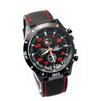 Sport Men's Water Resistant 2014 F1 Grand Touring GT Men Sport Quartz Watch Military Watches Army Japan PC Movement Wristwatch Fashion Men's Watches RCD3649
