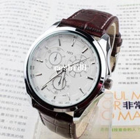 Wholesale brand name fitness military hours leather quartz retro shocks watches sport mens watches
