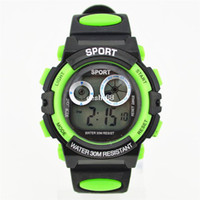 Wholesale Children s cartoon Watches Children digital Watches Student Kids Sports Multifunction Military LED M Waterproof Wristwatch