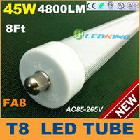 T8 led tube light - T8 LED Tube Light W ft mm m FA8 single pin LED fluorescent tube lamps SMD2835 LM AC85 V CE RoHS FCC ETL SAA UL