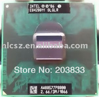 Wholesale laptop processor cpu Intel Core2 Duo Mobile P8800 SLGLR for laptop