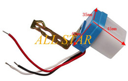 Wholesale Brand New AC DC V Dusk till Dawn Automatic Photocell Light Sensor Detector Switch DSF