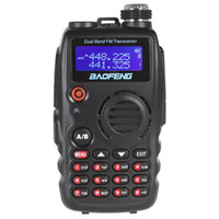 Wholesale SALE NEW Baofeng A Dual Band VHF UHF MHz MHz FM Transceiver Walkie Talkie Two Way Mobile SEC_027