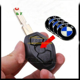 Wholesale Car Key Remote Sticker Emblem Badge Fob Case Logo mm X5 Series