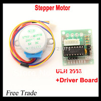5V 4-phase Stepper Motor+ Driver Board U FZ0106  5V 4-phase Stepper Motor+ Driver Board ULN2003 for_Arduino 1x Stepper motor +1x ULN2003 Driver board