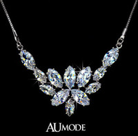 Cheap Pendant Necklaces Statement necklaces Best Europe and America Women's Crystal necklace