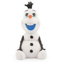 5-7 Years banks animation - Animation Cartoon OLAF Plastic Money box Piggy Coin Bank Action figure toy