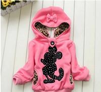 Wholesale Hot baby girl cartoon hoodies Girls jackets children s winter coat Children s clothing children warm coat in winter