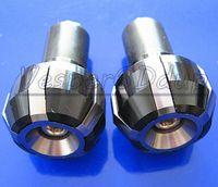 Wholesale 7 quot CNC Motorcycle Handlebar Aluminum Grips Bar End Plug