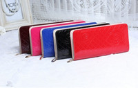 Wholesale Rose flower Leisure lady business hand bag Clutch Bags large wallet COLORS TH020