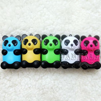Wholesale Fashion Cheap Portable Mp3 Player Portable Lovely Mini Mp3 Players Panda Cartoon Mp3 Player Cute Kid Gift Sport Clip Mp3 Player