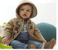 Wholesale Hot New Boys Winter Jacket Clothes Color Kids Outerwear Coat Baby Thick Clothes Children Clothing With Hooded