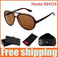Wholesale Brand Designer Sunglasses Fashion Men Brand Sunglasses Women s Sunglass R4125 sport glasses Eyewear with original package