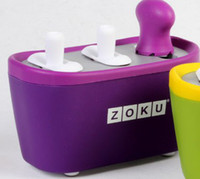100pcs 2 color Zoku Quick Pop Maker, ZOKU Slush Shake Maker ...