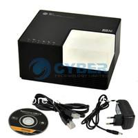 New 8834# Blue USB 2.0 to Ethernet Network USB Server Adapter with 4-Port HUB RJ45 Port Black (EU Plug) Free Shipping 8834