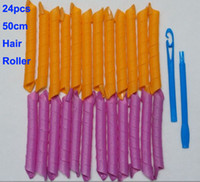 Wholesale Hot set hooks cm cm long magic hair rollers curl styling tools hair curlers not hurt hair