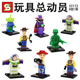 Wholesale 480pcs sy172 toy Story block Figures Building Blocks Sets Model Minifigures Toys Compatible