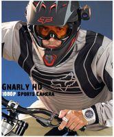 Wholesale Gopro Sport Camera Full HD P outdoor travel Waterproof Helmet Video Recorder Motor Extreme Bicycle Bike DVR Screen Camcorder