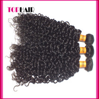 Wholesale A Grade Indian Virgin Hair Weaves DHL Indian Human Hair Weft Deep Wave Kinky Curly Hair Extensions