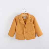 suit fabric - Spring Autumn Boy Classic Casual Small Suit Coat Children s Jackets Corn Grid Fabric Made Good Quality Kid s Suit Coat Child Outwear GX798