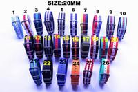 Wholesale High quality MM Nylon Watch band NATO waterproof watch strap colorful fashion wach band NATO strap